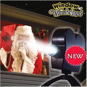 Star Shower Window Projector WonderSHOW  varázslatos filmvetítő