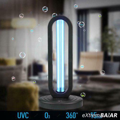 UV baktérium és vírusölő lámpa - sterilizál, fertőtlenít - távirányítóval