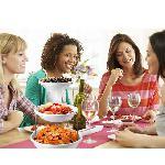 Összecsukható 3 rétegű dekoratív műanyag tál - 3 Tier Twist Fold Party Bowls