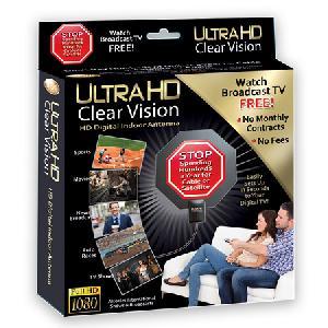 Ultra HD Clear Vision TV Antenna - Az Seen On TV