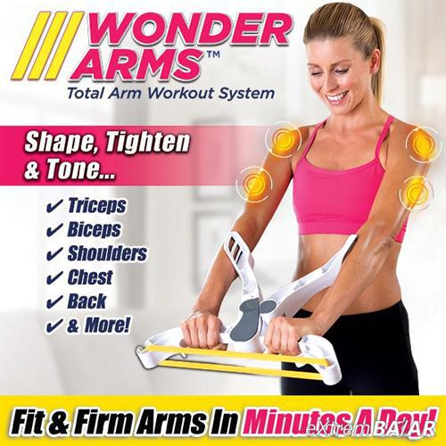 WONDER ARMS karerősítő Fitness edzőgép