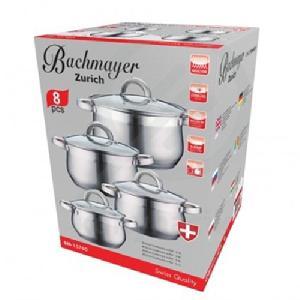 Bachmayer inox edénykészlet 8 részes BM-15760