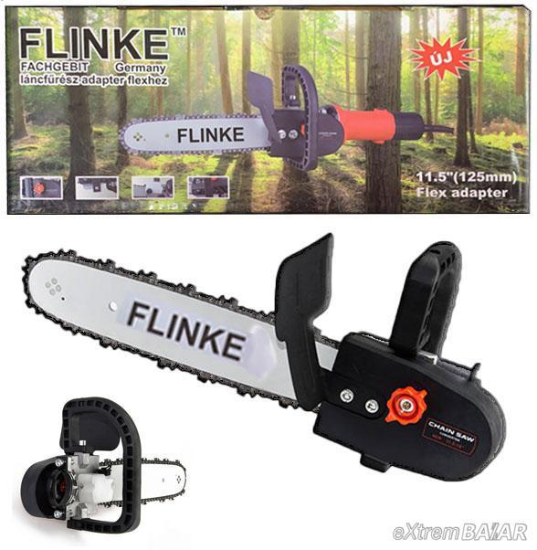 """FLINKE LÁNCFŰRÉSZ ADAPTER SAROKCSISZOLÓHOZ 11,5"""" (125mm) Flex Adapter"""
