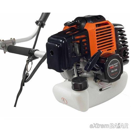 Royalkraft Line RK-550 benzinmotoros fűkasza, 55cm³, 5.5le