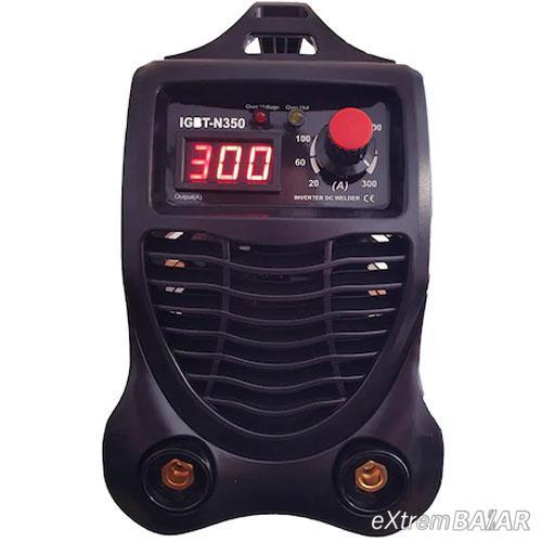 RoyalKraft IGBT-N350 inverteres hegesztő, 300 A, 1,6 - 4 mm elektróda, hegesztőmaszkkal, kesztyűvel