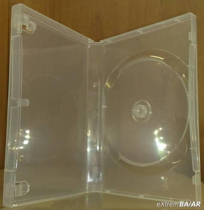 DVD tok 22mm átlátszó SUPER CLEAR Kiváló minőségű ( SCANAVO )