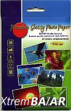 Fotópapír fényes, A6 (104x148mm) 220g, 20db