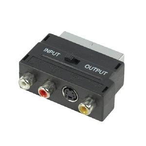Scart/ video es videó adapter