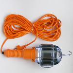 Kézi hordozható elektromos Steklámpa 10m. HOSSZABBÍTÓ Portable Electric Hand Lamp 10 m