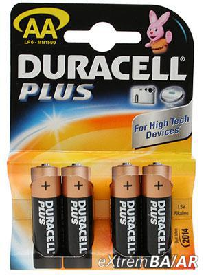 Duracell Plus AA MN1500 Battery (Pack of 4)