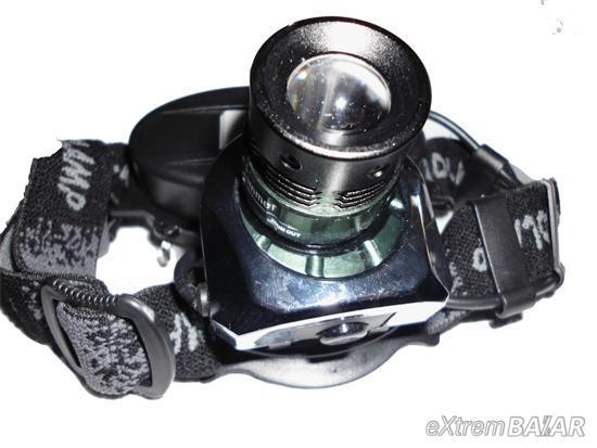 Aluminium led headlamp gree 50w (tölthető aksi)