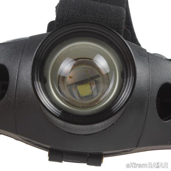 ALUMINUM HEADLAMP CREE 5W (3xAAA) 300 Lumens 5W LED Zoomable