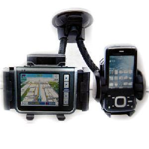 Kettős Universal Car Szélvédő tartó GPS SmartPhone iPhone Blackberry