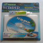 VCD / DVD lencse tisztító