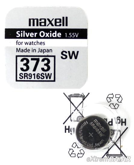 Maxell 373 SR916SW 1.55V