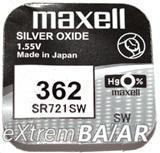 Maxell 362  SR721SW 1.55V