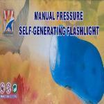 Manual Pressure ( manuál dinamós működésű LED lámpa, zseblámpa )