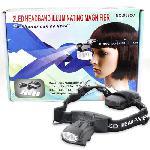 Fejpánt nagyítóval, lámpával ( 2Led Headband Illuminating Magnifier )