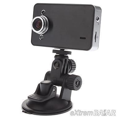 Full HD Vehicle Blackbox DVR Camcorder Car Camera with 2.4 TFT LCD Screen for Car 720P