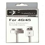 For iPhone 4G/4S Dock Connector to USB Cabel SJX-0004