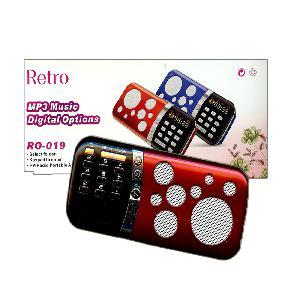 Retro mp3 music digital options  R0-019