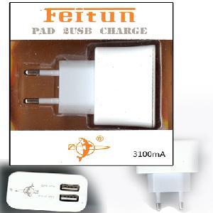 FEITUN AG00034 ( PAD Usb2 ac Charger) Usb hálózati töltő 3100mA