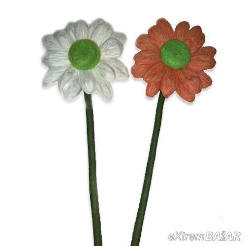 Krepp papír virág dekoráció