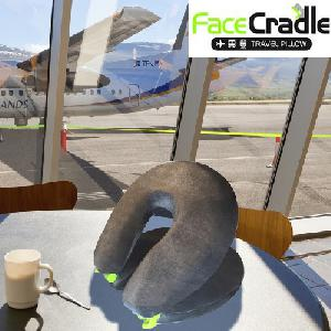 Face Cradle utazó párna
