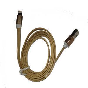 iPhone 5, -- töltő/adat kábelek -- USB ( Gold )