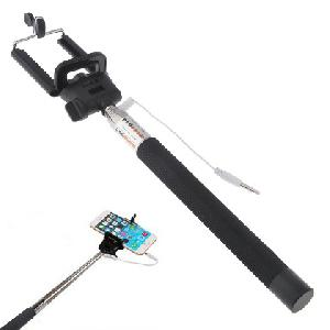 Z07-5S Cable Take Pole Extendable Handheld MSelfi bot obilephone Selfie Self Portrait Monopod Compatible with IOS 4.0,Android 3.0 Above System