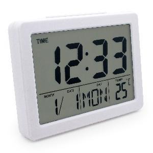 Digitális Időjárás LCD Digital Alarm Clock Weather Station Alarm Clock Digital Alarm Clock SN(2619)