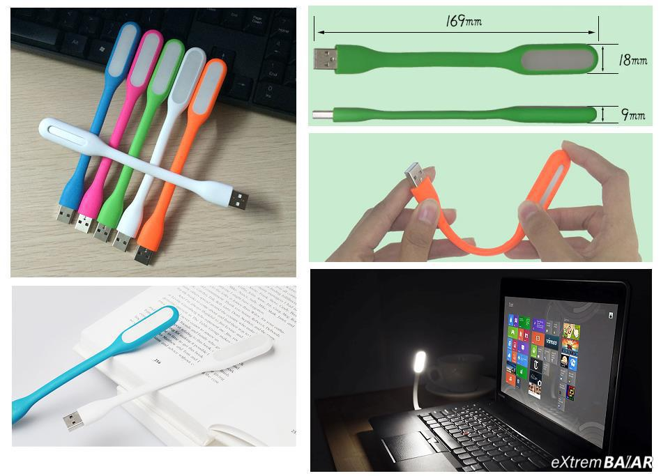 USB lámpa USB LED Portable Lamp LXS-001 Portable gently insert the instant bright