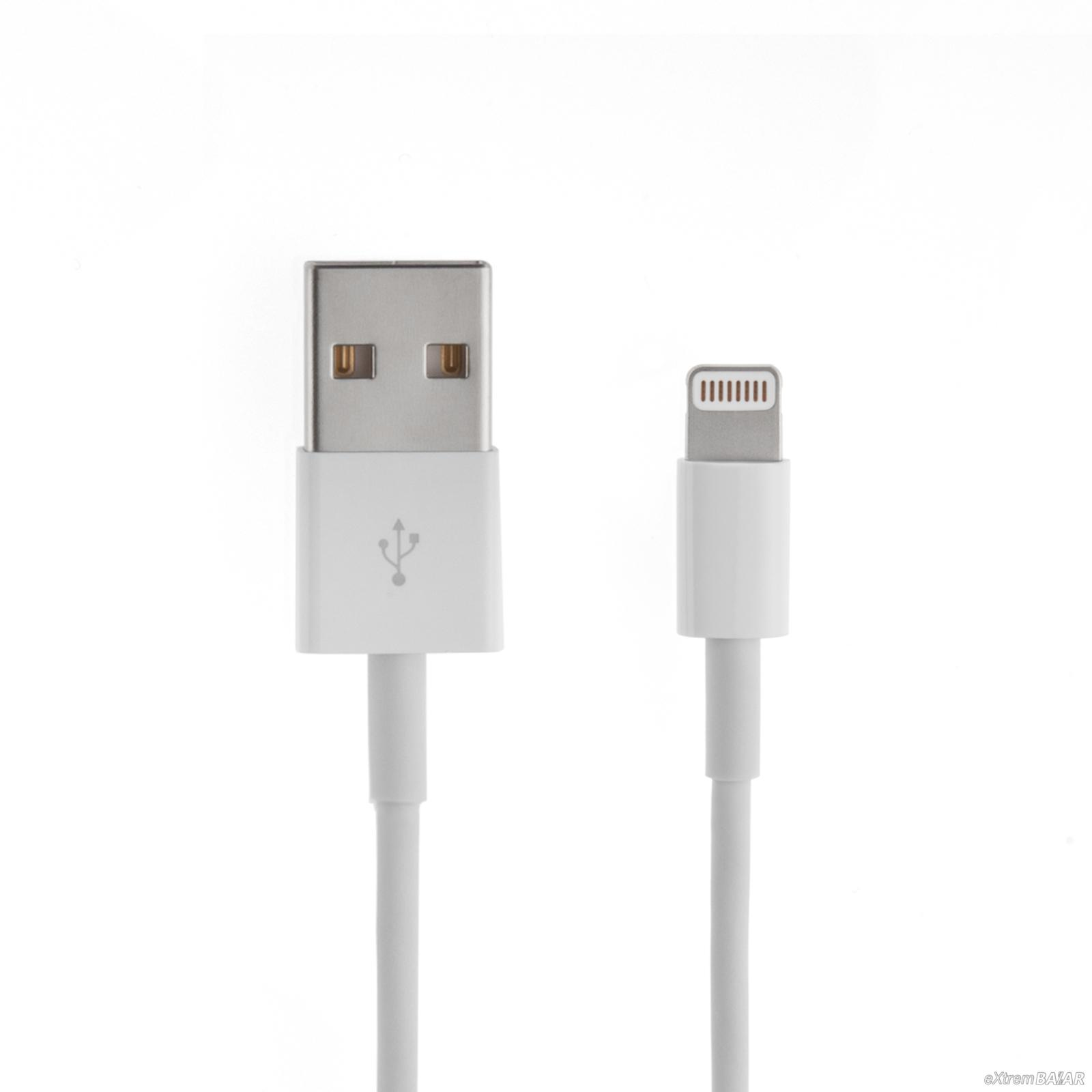 USB DATA CABLE FOR iPHONE 6S/ 6G/ 5S/ 5G (1METER)
