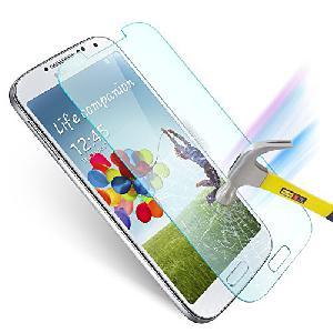 Edzett üveg kijelzővédő fólia Galaxy S4  * Tempered Glass Screen Protector - Galaxy S4 *