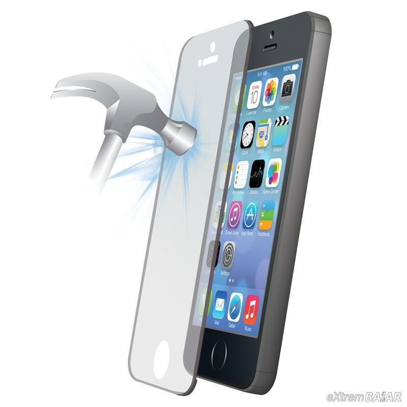 Edzett üveg kijelzővédő fólia iPHONE 5G * Tempered Glass Screen Protector - iPHONE 5G *