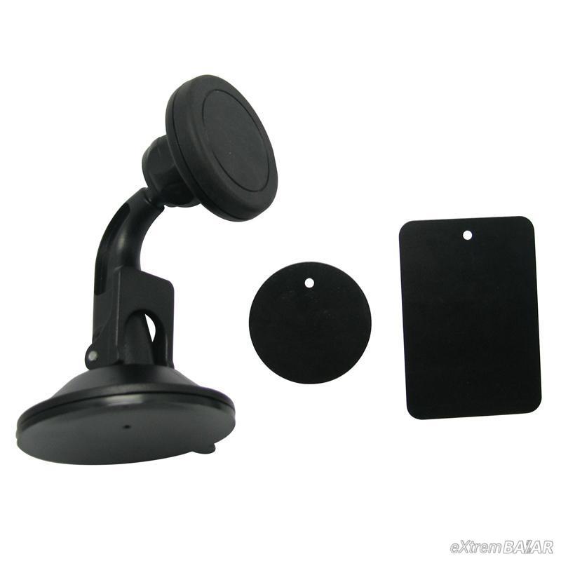 Mágneses univerzális Telefontartó Super Tapadókorongos 360 fokos, Quick-Snap XWJ-1505