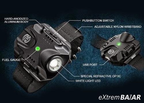 Csuklóra szerelhető Led lámpa, Taktikai karóra LED lámpa