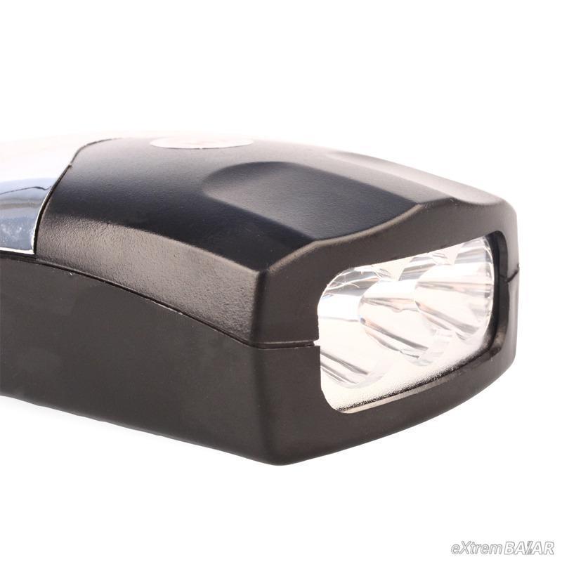 Kerékpár beépített 3 LED-es első fényszóró YH-0902