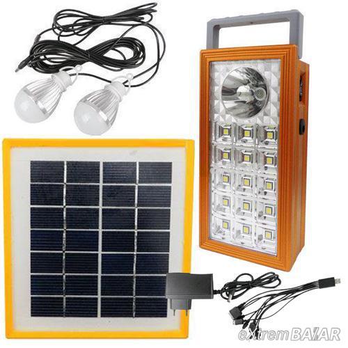 Napelemes világítási Rendszer  * Solar Power Lighting System *  Bb-9118