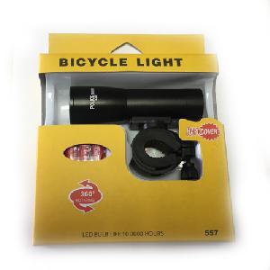 Kerékpár beépített LED-es első fényszóró BL-557 ( ZOOM )