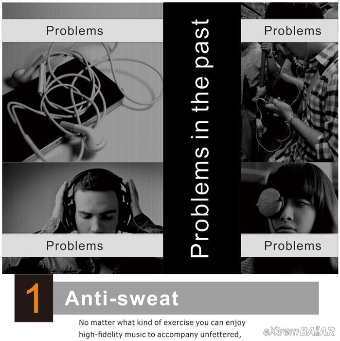 Sport Bluetooth Headset AD052  vezeték nélküli Bluetooth fülhallgató HIFI *New Design *