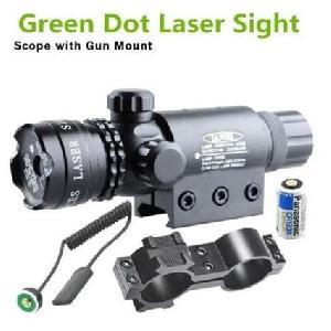 Fegyverre szerelhető, célzást segítő léser. ( Green Laser Sight Forces Laser Sight Module )