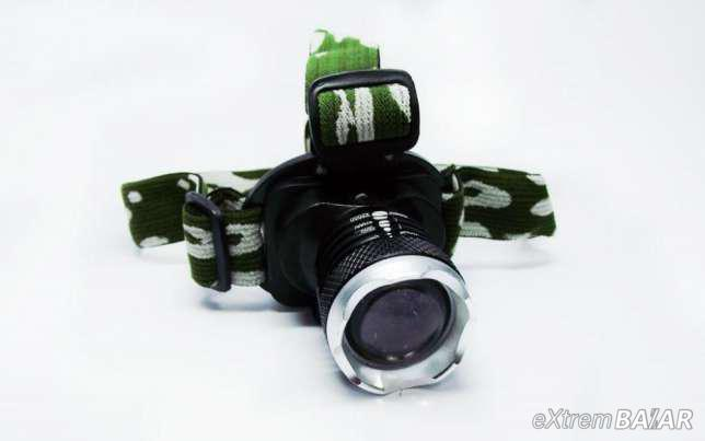 Fejlámpa Akkumulátorral 20000 W Cree Led Zoom BL-6809  Bailong