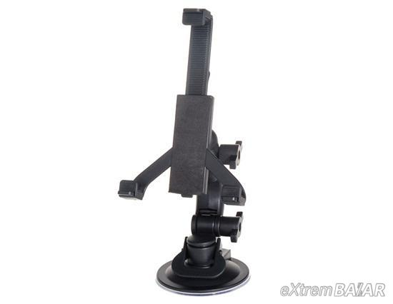 """Multi-directional Stand for 5""""-10.1"""" tablet PC, GPS, PSP, MP4 player, iPad (Black)"""