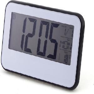 Digitális óra mozgás érzékelővel - LCD kijelző - hangvezérlés Black Light Óra 2618