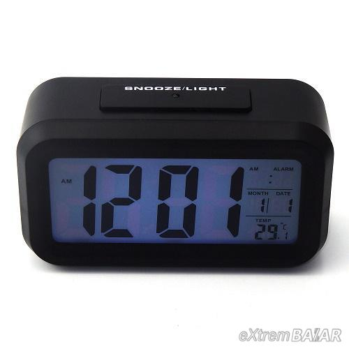 Digitális ébresztőóra - LCD kijelző Smartlight