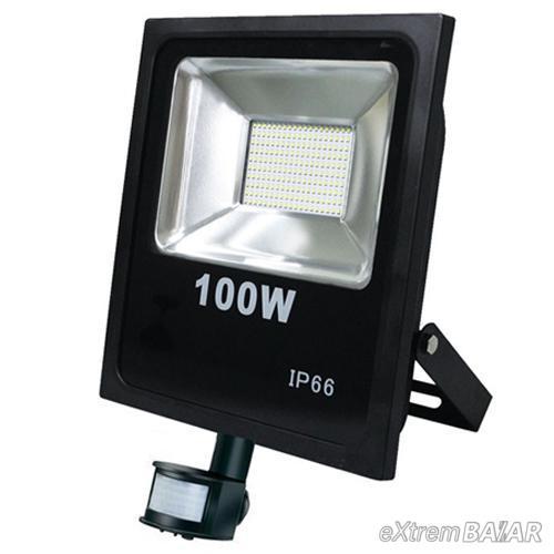 LED reflektor Energy saving 100 Watt-os ( mozgásérzékelővel ) Slim változat