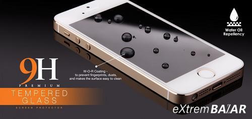 9H Edzett üveg kijelzővédő fólia Huawei P8