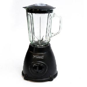 Royalty Line elektromos turmixgép üveg tartállyal - fekete 500W