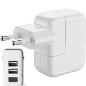 USB hálózati adapter 2-port 15 W teljesítmény ( 2x USB ) 2.3А (2300mAh) + Led kijelzó